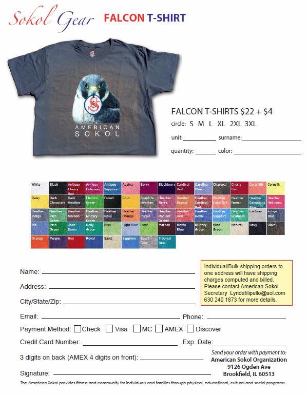 American Sokol Falcon T-Shirt